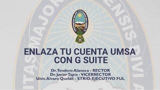 ENLAZA TU CUENTA INSTITUCIONAL CON GOOGLE SUITE
