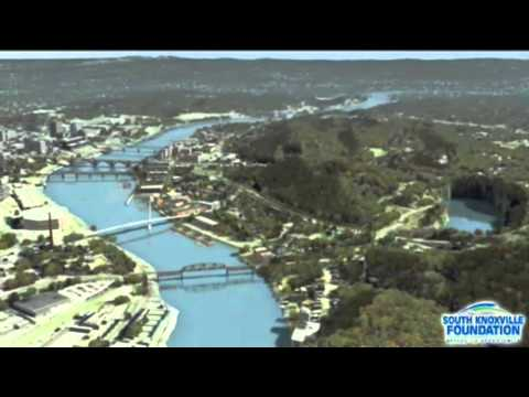 South Knoxville Waterfron Rendering Fly-over