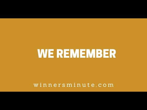 We Remember // The Winner's Minute With Mac Hammond