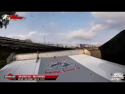 44d Derek Hall   Eagle Raceway   7-17-21 - dirt track racing video image