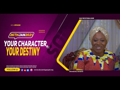 Dr Becky Paul-Enenche - SEEDS OF DESTINY  TUESDAY JANUARY 26, 2021