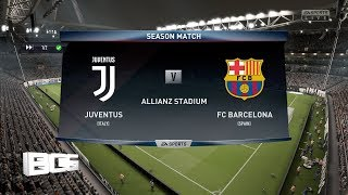 Juventus vs Barcelona(Fifa 19 Online Seasons Match)