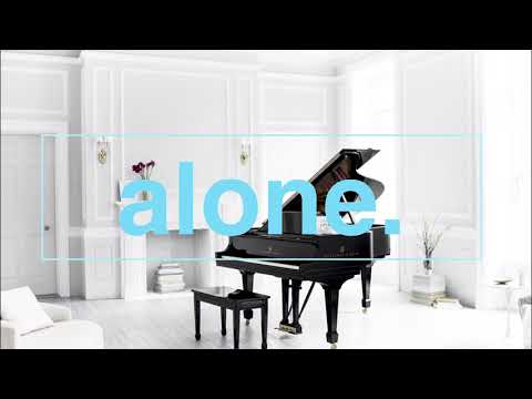 alone  grand piano  quiet instrumental