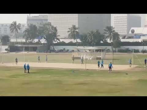 South African Squad First Practice Session In Karachi Gymkhana