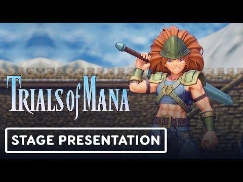 Trials of Mana Gameplay Full Treehouse Presentation - E3 2019 - UCKy1dAqELo0zrOtPkf0eTMw