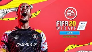 FIFA 20 WEB APP! (Release Date, Starter Packs, Trading & Investing Tips Guide) FIFA 20 Ultimate Team