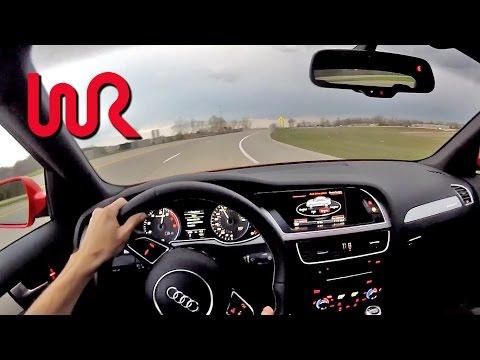2014 Audi S4 Quattro Manual - WR TV POV Test Drive 1/2 - UCeiBi8gptAwNoIHrZ3OUUbw