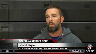 Acadiana Kickoff Tour | Sacred Heart Trojans