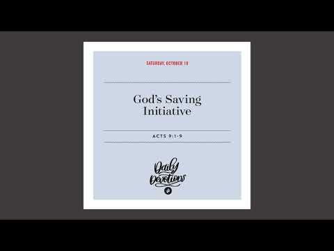 Gods Saving Initiative  Daily Devotional
