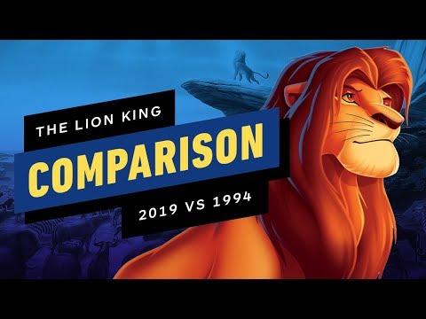 The Lion King Official Trailer Comparison - 2019 vs 1994 - UCKy1dAqELo0zrOtPkf0eTMw
