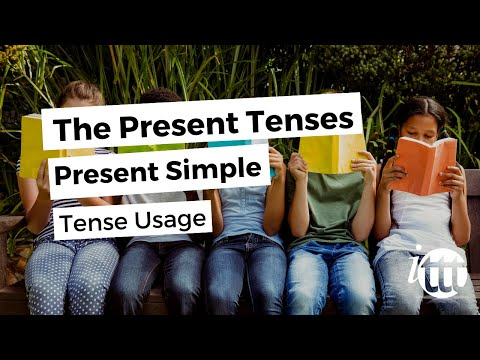 English Grammar -- Present Simple -- Usage -- Online TESOL Course