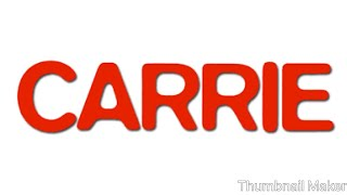 Monday Movie Madness: Reviewing Carrie