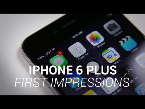 iPhone 6 Plus First Impressions! - UCR0AnNR7sViH3TWMJl5jyxw