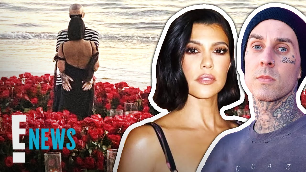 Inside Kourtney Kardashian & Travis Barker's Engagement | E! News