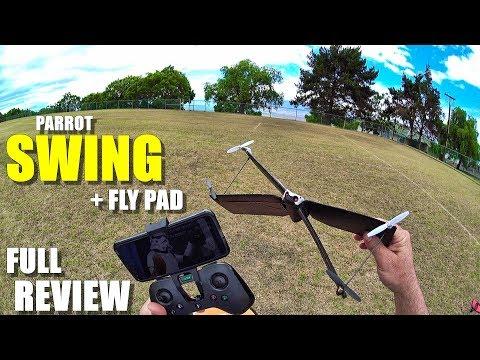 PARROT SWING VTOL Drone/Plane + FlyPad - Full Review - [Unboxing, Setup, Flight Test, Pros & Cons] - UCVQWy-DTLpRqnuA17WZkjRQ