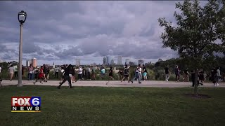 Breakout Games hid $2K in Riverwest, drawing a crowd to Kilbourn Reservoir Park