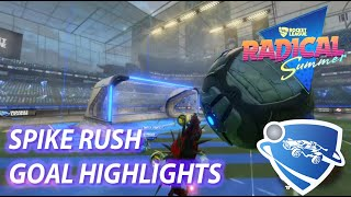 Rocket League - SPIKE RUSH Highlights AWESOME NEW GAME MODE (Rocket Leauge Radical Summer)
