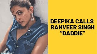 "Deepika Padukone Comments ""Daddie"" With Baby Emoji On Ranveer's Insta Live 