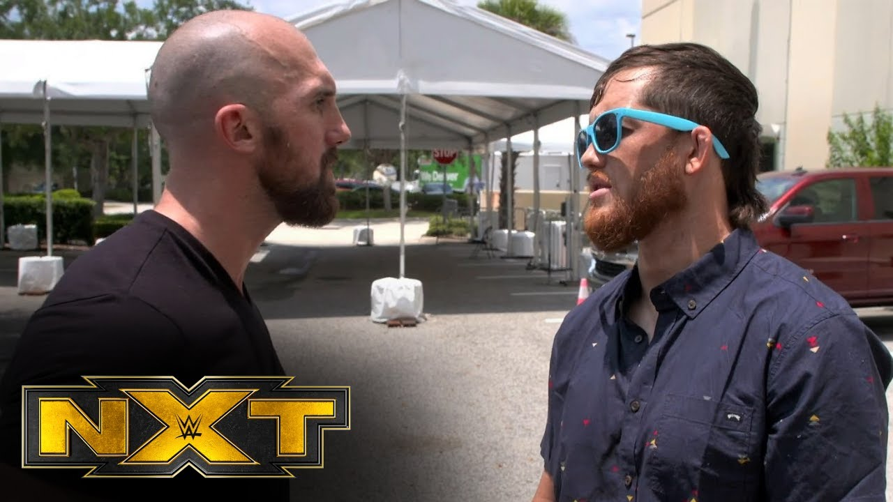 Kyle O'Reilly wants a match against Oney Lorcan tonight: WWE Network Exclusive, May 11, 2021
