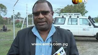 Electoral Commissioner Patilias Gamato on LLG election counting venues