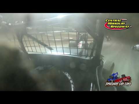 #00 Brock Elliot - Non Winged Sprint - 6-19-2021 Central Missouri Speedway - In Car Camera - dirt track racing video image