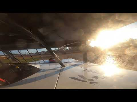 Red Dirt Raceway Sport Mod/B-Mod Heat Race #2 10/23/2021 Alex Wiens #10 GoPro - dirt track racing video image