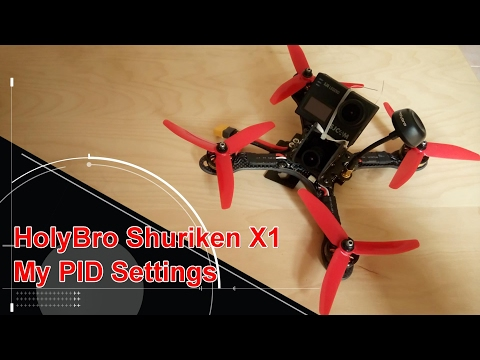 Holybro Shuriken X1 FPV Racing Drone PID Settings - UCsFctXdFnbeoKpLefdEloEQ