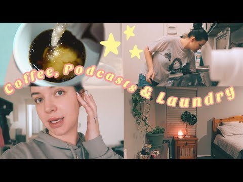 Laundry & A Facial + COFFEE + YOU NEED THIS PODCAST ❤️ - UCcZ2nCUn7vSlMfY5PoH982Q