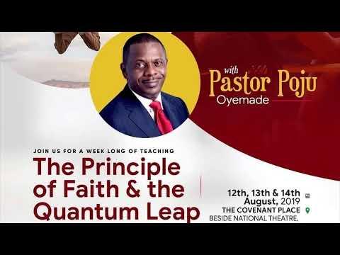 The Principle of Faith & the Quantum Leap  130819
