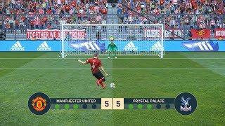 MANCHESTER UNITED vs Crystal Palace   Penalty Shootout   PES19