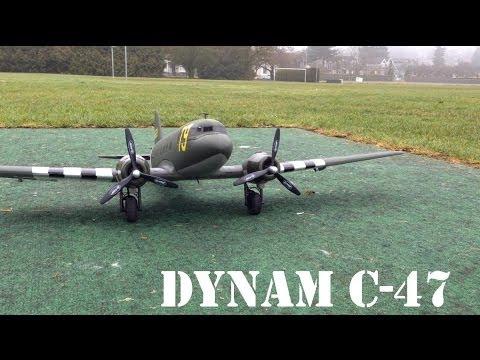 Dynam C-47 Maiden flight - UCArUHW6JejplPvXW39ua-hQ