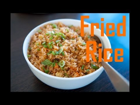 Chinese Style Fried Brown Rice - Easy Fried Rice --The Frugal Chef - UChCau9ChARDrpxMli7-h6hA