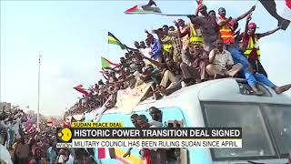 Tens of thousands celebrate power-sharing deal in Sudan