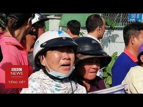 Cô gái ném giày ở Thủ Thiêm và thái độ của những dân oan mất đất (1) - Bàn Tròn BBC News Tiếng Việt
