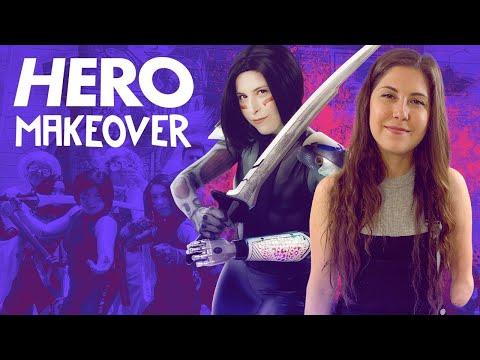 An Alita Battle Angel Cosplay, Complete With Bionic Arm - Hero Makeover - UCKy1dAqELo0zrOtPkf0eTMw