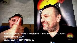 Entrevista a Martìn Iriarte / Los Brujos del Reloj en Arena Sonora 2020