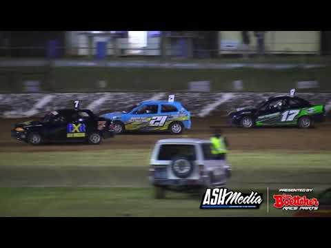 Junior Sedans: New Stars Allstar Series - A-Main - Kingaroy Speedway - 02.05.2021 - dirt track racing video image