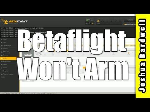 Quadcopter Won't Arm | CLEANFLIGHT BETAFLIGHT - UCX3eufnI7A2I7IkKHZn8KSQ