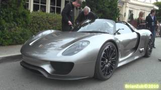 Porsche 918 Spyder - On The Road
