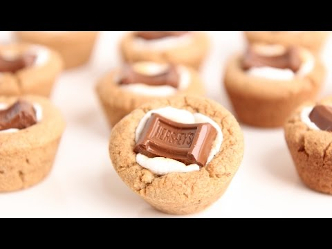 S'Mores Cookie Cups Recipe - Laura Vitale - Laura in the Kitchen Episode 801