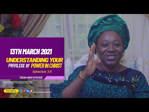 Dr Becky Paul-Enenche - SEEDS OF DESTINY  SATURDAY MARCH 13, 2021