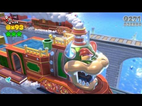 New Super Mario Bros  2 - 100% Walkthrough - World 6 / Final