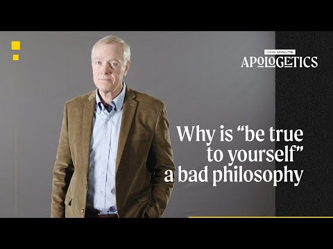 Ray Ortlund  Why Is Be True to Yourself a Bad Philosophy?