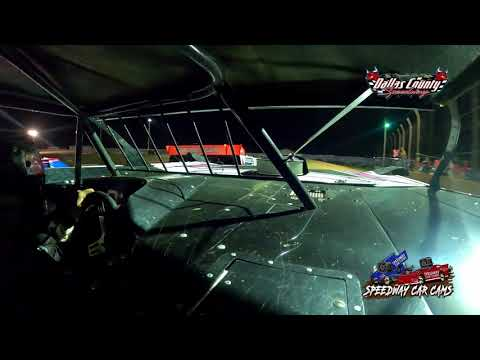 #23 Mark Simon - Cash Money Late Model - 7-23-2021 Dallas county Speedway - In Car Camera - dirt track racing video image