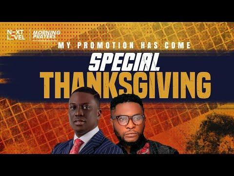 Next Level Prayers  My Promotion Has Come  Pst Bolaji Idowu & Keleb Shout  22nd October 2021