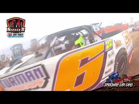 #6 Tucker Anderson- 602 Late Model - Carolina Sizzler 7-18-21 - In-Car Camera - dirt track racing video image