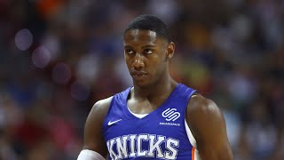 BREAKING NEWS! KNICKS RJ BARRETT WAS HURT WHILE PLAYING SUMMER LEAGUE SAYS REPORTS!
