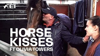 Horse kisses and more! Wise words from a top groom... feat. Olivia Towers