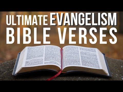 BEST Bible Verses for Evangelism!
