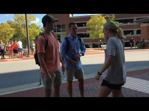 Snapchat Stories have been known to start international conversation. Last night, Thursday, Aug. 25, Auburn University's campus story started a new conversation about deer people and the Braves.